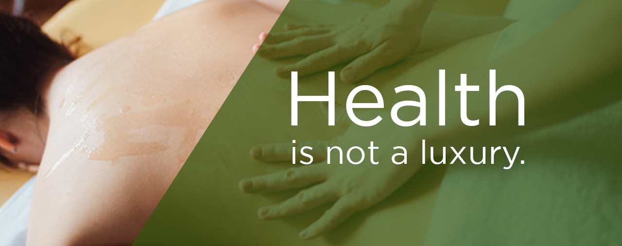 Massage Therapy is not just luxury!