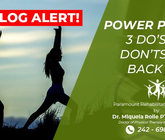POWER POSTURE: 3 DO's and DONT's with BACKPAIN